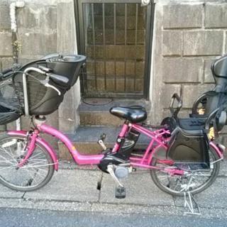 【終了】三人乗り電動自転車 ギュットミニDX パナソニック