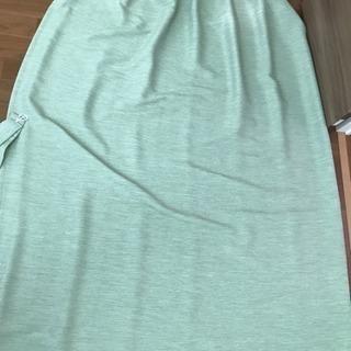 ニトリ カーテン幅100×丈175cm×2枚 グリーン