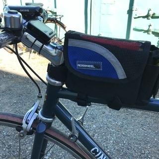 新品 サイクリング用フレームバック お財布や小物入れに クロモリロ...