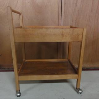 3D113 キッチンワゴン 木製 中古 引渡し限定