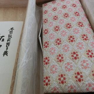 博多織佐賀錦和装用がま口財布 未使用 礼装 和装小物 値下げ