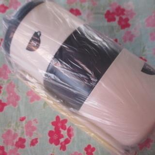 未使用品 筒形3段     お弁当箱    収納袋 のセッ…