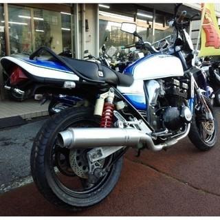 NO.1768  GSX400インパルスS (IMPULSE) 水冷4サイクル4気筒エンジン WR'Sマフラー ☆彡 - バイク