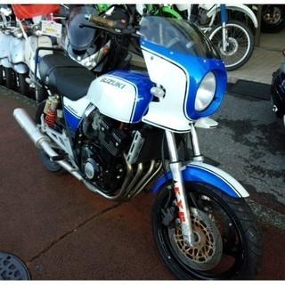 NO.1768  GSX400インパルスS (IMPULSE) 水冷4サイクル4気筒エンジン WR'Sマフラー ☆彡 − 埼玉県