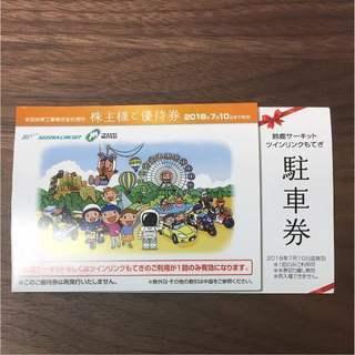 【ホンダ】 株主優待券 鈴鹿サーキット・ツインリンクもてぎ