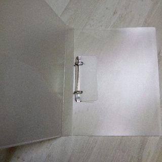 無印良品 A4サイズ2リングファイル - 目黒区