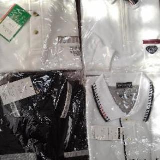 ゴルフ好きな紳士にぴったり✡️新品ポロシャツ4枚セットです!