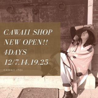 cawaii itoi shop open 4days