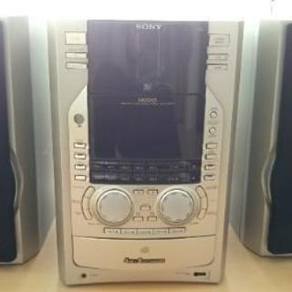 [ジャンク]ソニー5CD&5MDコンポ