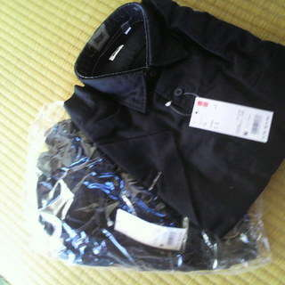 新品黒 【 シャツ半袖 美容師さんいかがでしょうか? 2着まとめて...