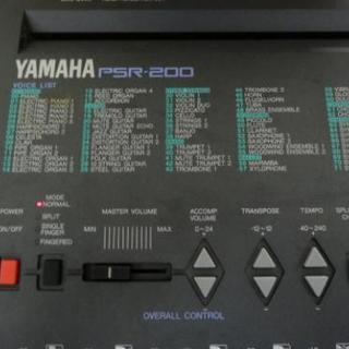 YAMAHA PSR-200