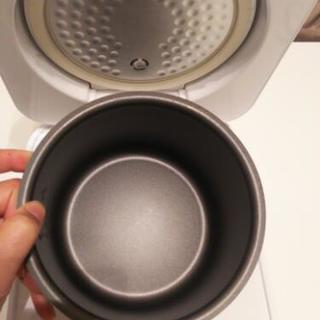 炊飯器 3合炊き 独り暮らし用  - 家電