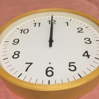 無印 時計の画像