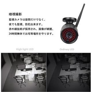 新品✨防犯ワイヤレスカメラ - 家電
