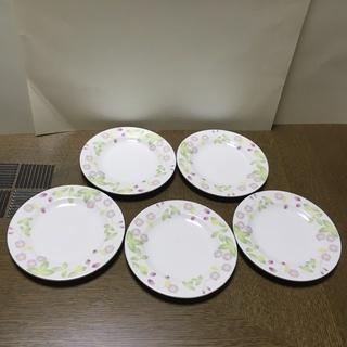 いちご柄の小皿 5枚