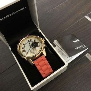mercibeaucoup, メルシーボークー 腕時計アナ…
