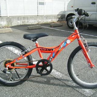 中古自転車65B(防犯登録無料) 子供自転車 前後新品タイヤ交換!...