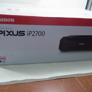 Canon PIXUS iP2700 数回使用美品 インクなし