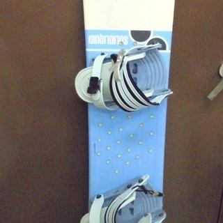 SOLID LIQUID スノーボード  140cm  バッグ付き