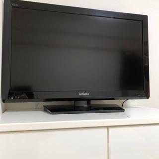 美品 HITACHI Wooo 32型テレビ