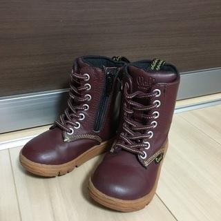 最終値下げ美品ムーンスター5800円ブーツ ダブルビー、ミキハウ...