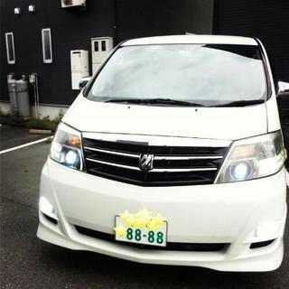 ★車検平成31年4月25日まで★5人乗り仕様★アルファード10系...