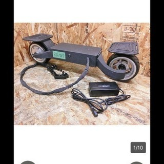 (RD1737)【J4】☆立って乗るバイク!!G-wheel/ジー...