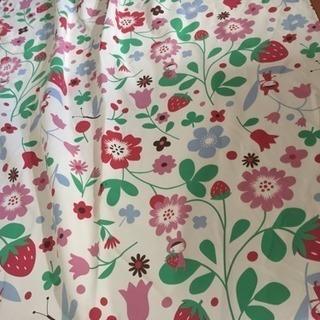花柄 カーテン