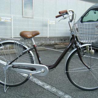 中古自転車66A(防犯登録無料)ブリヂストン 高級お買い物自転車 ...