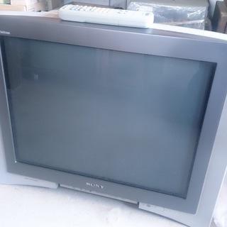 【貰ってください】ソニー 25型ブラウン管テレビ WEGA KV-...