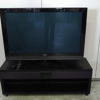 日立 プラズマテレビ P46-XP05 美品 スピーカー付きテレ...