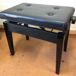 高さ調整付きピアノ椅子(中古)座面55×36
