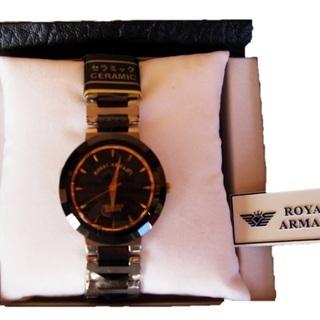 【新品】ROYAL ARMANYの腕時計