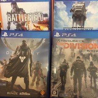 大人気【PS4】ディビジョンなどゲーム4本セット