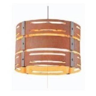 【中古】木製 ペンダントライト TIP-3013タキズミ 照明器具