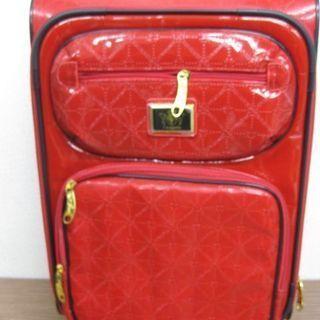 f-magasin キャリーバッグ 赤 4輪 機内持ち込みサイズ