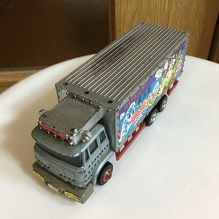 ポピー製トラック野郎ミニカーPA-94桃次郎 一番星日本列島ひとり...