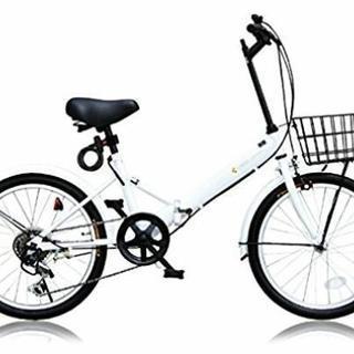 折りたたみ自転車20インチ6段ギア