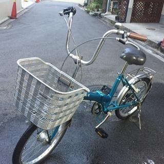 20インチ外装6段オートライトの折り畳み自転車