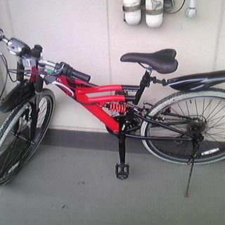 古い自転車ですが、ほしい方に差し上げます。