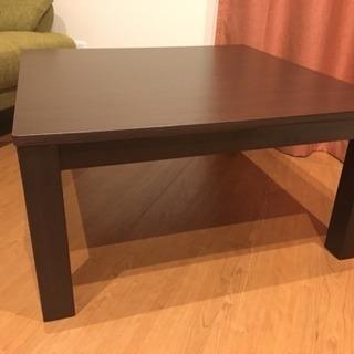 値下げ❗️こたつ テーブル こたつ布団付き