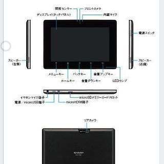 新品 Sharp RW-T107 Tablet