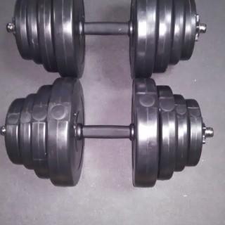 【交渉中】ダンベル 20kg 2個セット 【計 40kg】新品未使用品