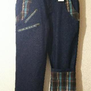 【値下】チェック柄のジーンズ 新品