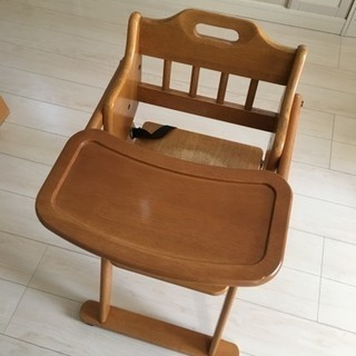 中古 KATOJI 子ども椅子 ベビーチェア
