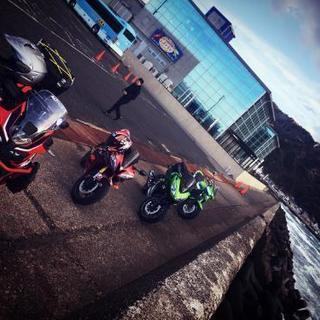 バイク グループライン ツーリング