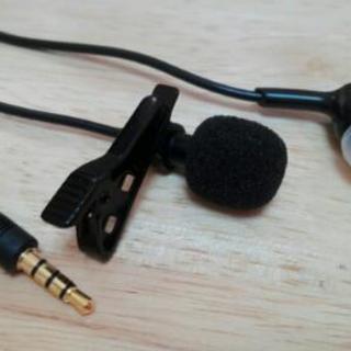 新品!マイクロフォン(3)イヤフォン付き