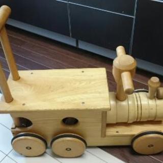 木製 汽車ポッポ