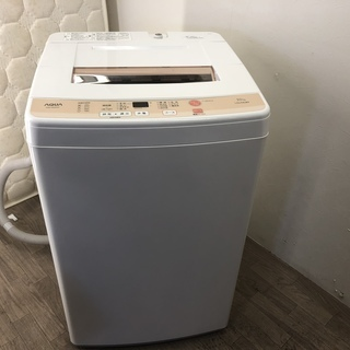 102704 ☆アクア 洗濯機 5.0kg 16年製 ☆