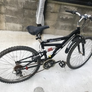 改造多数 マウンテンルック自転車